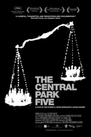 The Central Park Five - Theatrical release poster