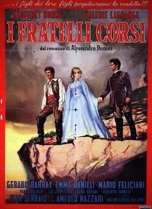 The Corsican Brothers (1961 film) - Image: The Corsican Brothers (1961 film)