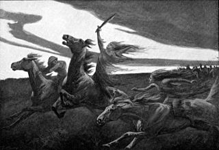 ghost, spirit or deity in Norse mythology