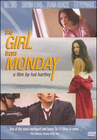 The Girl from Monday - DVD cover