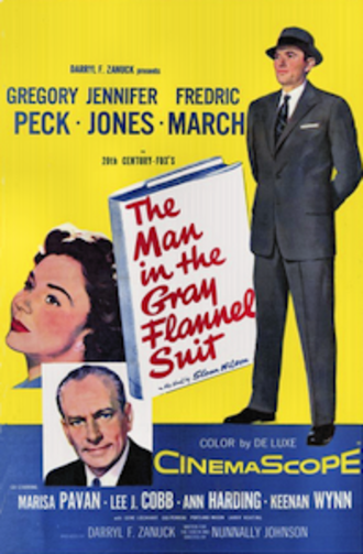 The Man in the Gray Flannel Suit - 1956 Movie Poster