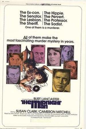 The Midnight Man (1974 film) - film poster