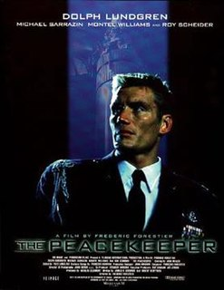<i>The Peacekeeper</i> 1997 Canadian film directed by Frédéric Forestier