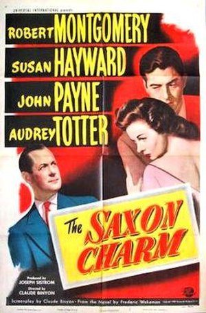 The Saxon Charm - 1948 theatrical poster