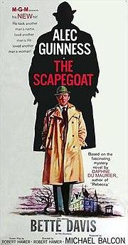 Image result for scapegoat film 1959 poster