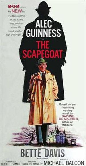 The Scapegoat (1959 film) - Theatrical release poster