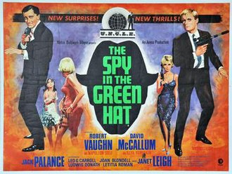 The Spy in the Green Hat - Theatrical release poster
