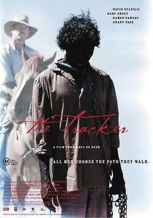The Tracker - Theatrical film poster