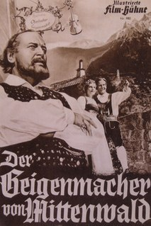 <i>The Violin Maker of Mittenwald</i> 1950 film