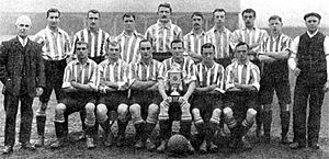1907 FA Cup Final - The Wednesday's winning squad