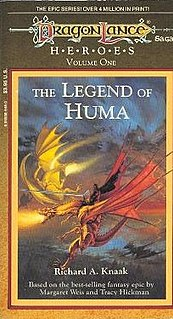 <i>The Legend of Huma</i> 1988 fantasy novel