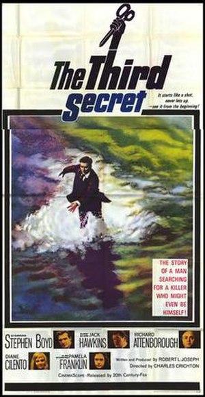 The Third Secret (film) - Original poster