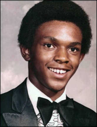 Tim Cole - Cole's yearbook photo