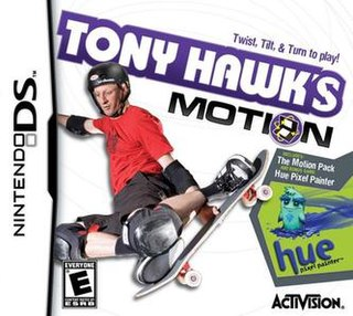 <i>Tony Hawks Motion</i> 2008 video game