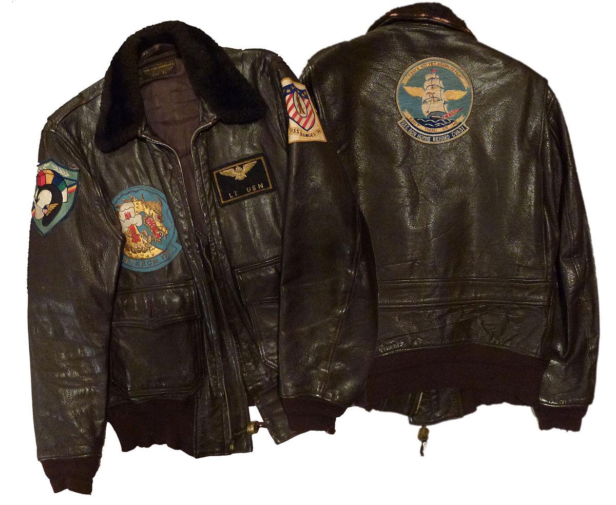 8a5f5fffe G-1 military flight jacket - Wikipedia
