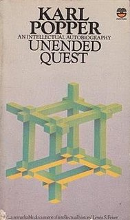 <i>Unended Quest</i> book by Karl Popper