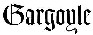 The Gargoyle (newspaper) - The Gargoyle logo, current