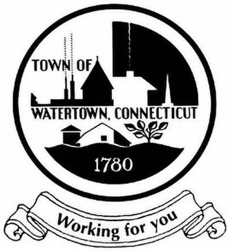 Watertown, Connecticut - Image: Watertown C Tseal
