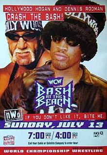 Image result for wcw bash at the beach 1997