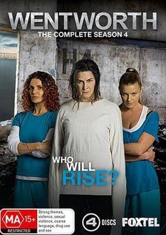 Wentworth (season 4) - Region 4 DVD Cover