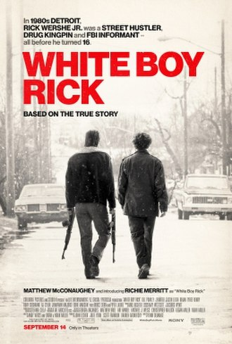 White Boy Rick - Theatrical release poster