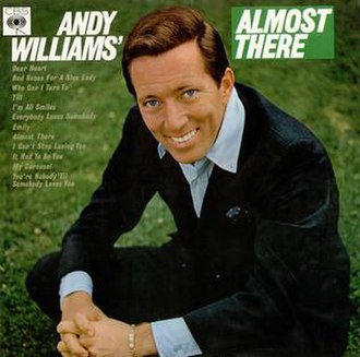 Andy Williams' Dear Heart - Image: Williams Almost