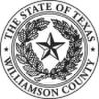 Williamson County, Texas - Image: Williamson County tx seal