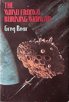 <i>The Wind from a Burning Woman</i> book by Greg Bear