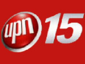 "WXBU - Previous UPN logo used from 2002 to 2006; the ""15"" was in use since 1999."