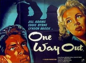 One Way Out (film) - British quad poster
