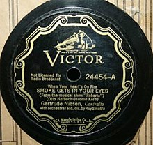 """Smoke Gets in Your Eyes"" - Gertrude Niendsen and Ray Sinatra (original 1933 recording).jpg"