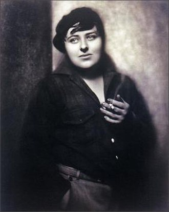 Pancho Barnes - Barnes in her 1928 image used on her pilot's license