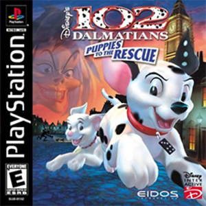 102 Dalmatians: Puppies to the Rescue - North American PlayStation cover art
