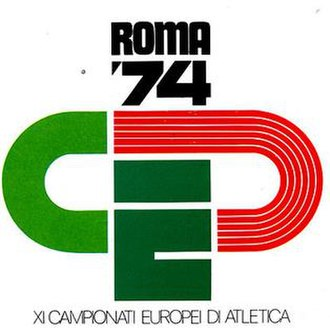 1974 European Athletics Championships - Image: 1974roma