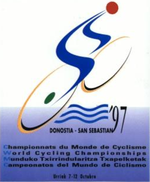 1997 UCI Road World Championships - Image: 1997 UCI Road World Championships logo