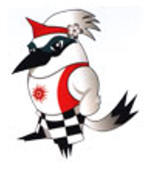 2008 Asian Beach Games - Official mascot, jalak Bali the Bali starling