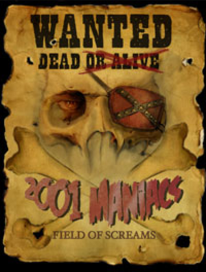 2001 Maniacs: Field of Screams - Theatrical release poster.