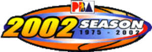 2002 PBA season - Image: 2002PBASeason Logo