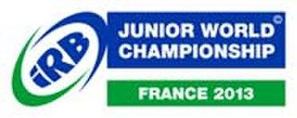 2013 IRB Junior World Championship - Image: 2013 IRB JWC