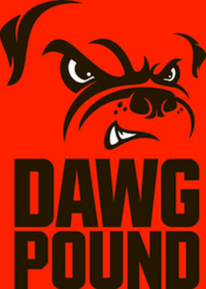 Dawg Pound - Official logo as of 2015