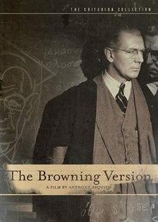 <i>The Browning Version</i> (1951 film) 1951 film