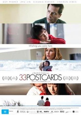33 Postcards - Australian film poster