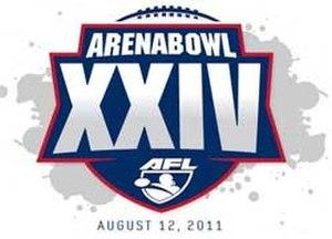ArenaBowl XXIV - Image: ABXXIV