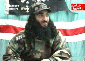 Abu al-Walid - Abu al-Walid issuing a video statement on Al Jazeera