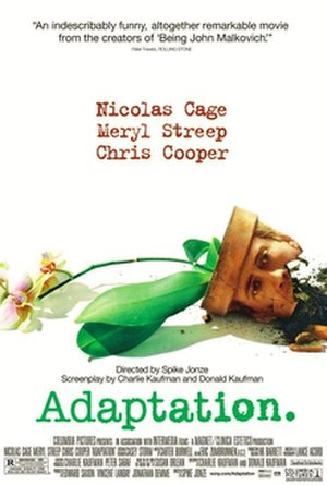 Adaptation (film) - Theatrical release poster