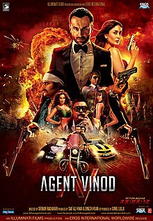 Watch Agent Vinod DVD Online Movie