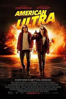 <i>American Ultra</i> 2015 action comedy film directed by Nima Nourizadeh