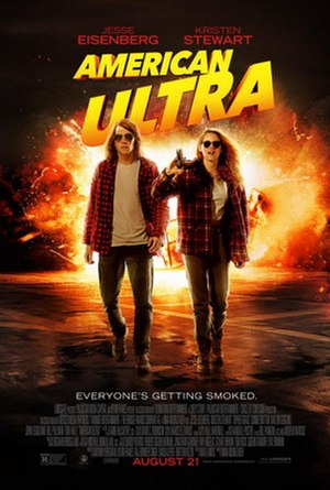 American Ultra - Theatrical release poster