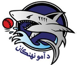 Amo Sharks - Image: Amo Sharks cricket team logo