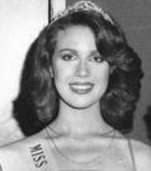 Murder of Anita Cobby - Anita Lorraine (Lynch) Cobby, winning the Miss Western Suburbs beauty Pageant in 1979